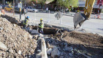 a pesar de la cuarentena, la muni trabaja en 57 obras en la ciudad