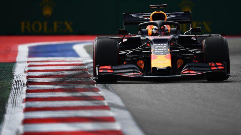 Max Verstappen, al comando del viernes de la Fórmula 1 en Sochi