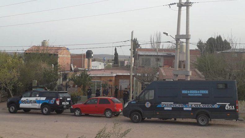 La Federal desbarató un kiosco narco en el barrio Sapere