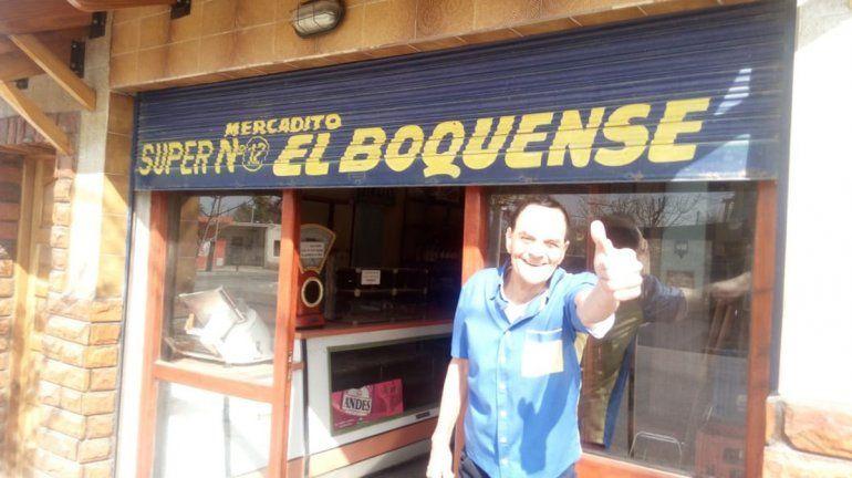 Carlitos, el dueño del Mercado El Boquense, una historia de pasión y superación ante el drama