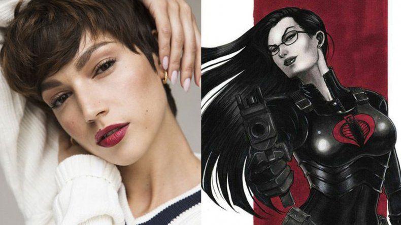 Úrsula Corberó será Baroness en la nueva G.I. Joe