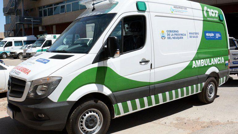 Más ambulancias para centros de salud del interior