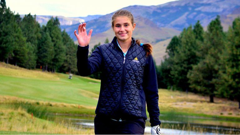 María Cabanillas: la golfista neuquina  que triunfa en Sudamérica