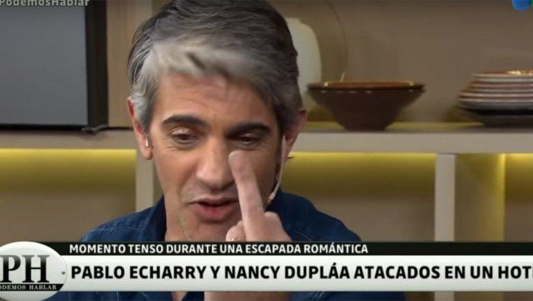 Pablo Echarri contó detalles del momento en que Nancy Dupláa casi termina a las piñas con una mujer