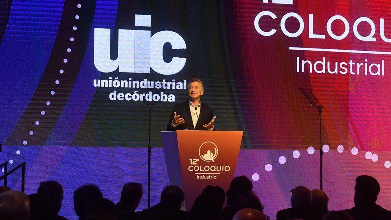 Córdoba: Macri convocó a un octubre histórico