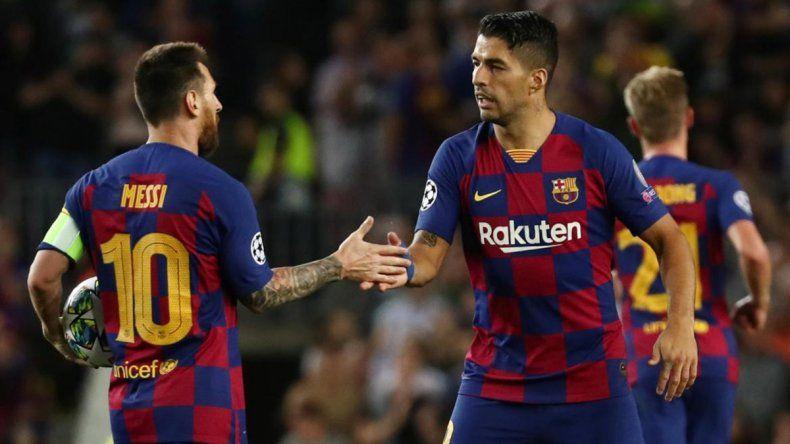 Mirá la gran asistencia de Messi para que Suárez, el héroe del Barcelona, se lo de vuelta al Inter