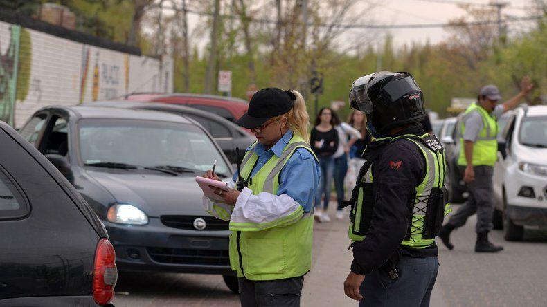 Los inspectores de tránsito, blanco de las agresiones