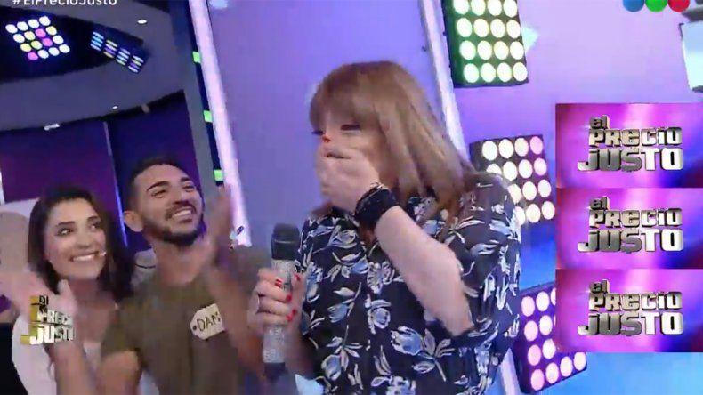 Video: el exabrupto de Lizy Tagliani con el que se tentó de risa en pleno vivo