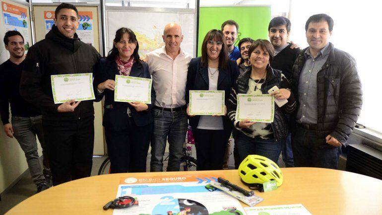 La Muni incentiva a los empleados que más utilicen la bici