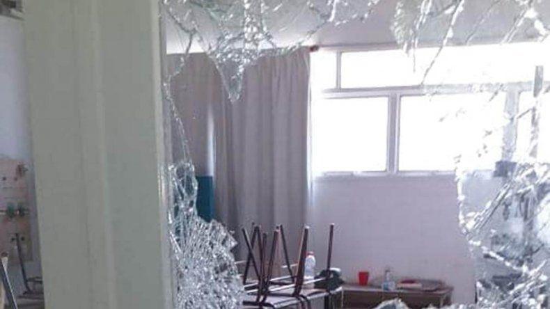 Antes de los destrozos, los alumnos de la EPET 9 ya reclamaban mejoras