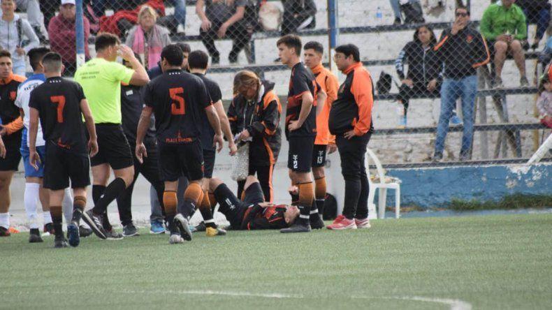Agresión entre jugadores, corridas y partido suspendido en la Copa Neuquén