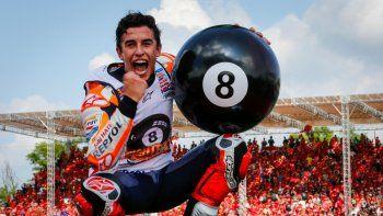 marc marquez sello la corona 2019 del moto gp con un triunfo en tailandia