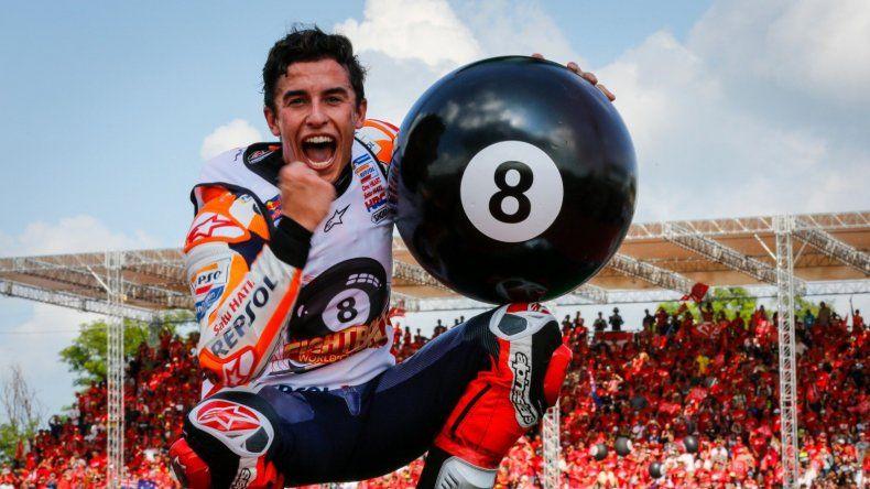Honda y Marc Márquez renovaron su vínculo