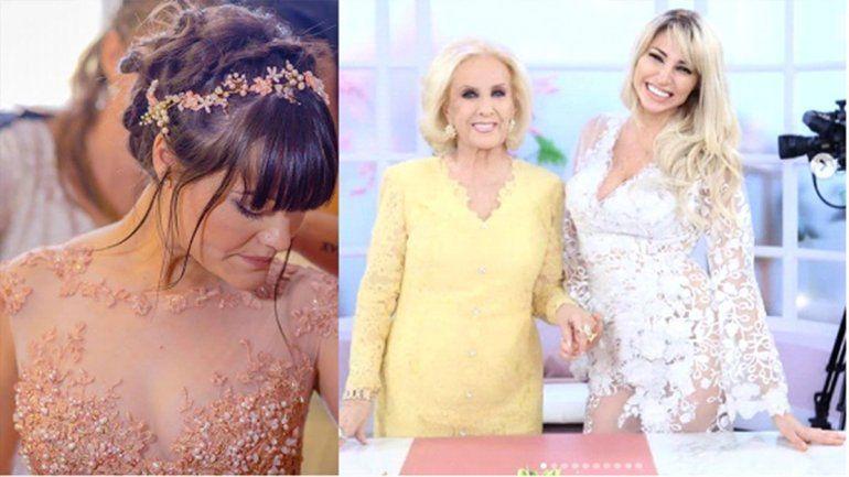 Desde Neuquén y sin medidas: ¿Cuánto salió el vestido que Vicky  Xipolitakis llevó a lo de Mirtha?