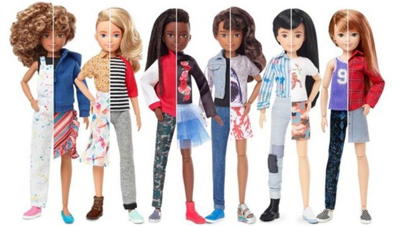 La firma de Barbie lanza una serie de muñecos sin género