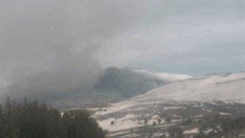 por la baja actividad volcanica, el copahue bajo el nivel de alerta