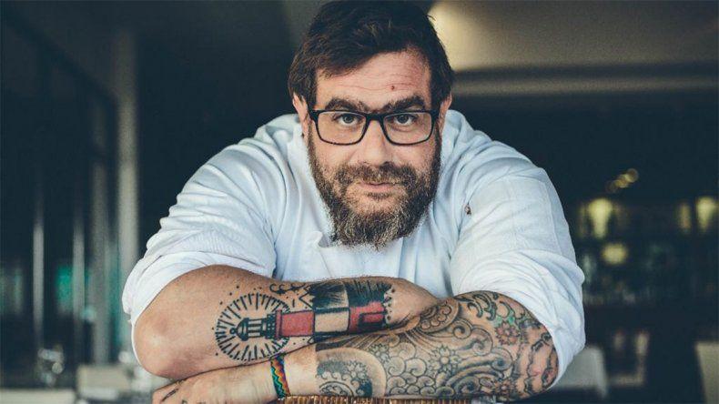Ezequiel González cocina en Bariloche A La Carta