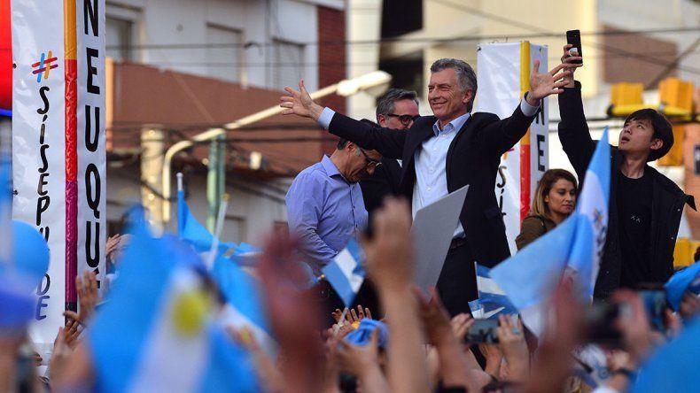 Macri en la marcha del #SíSePuedeNeuquén: Esta provincia nos va a transformar en una potencia mundial
