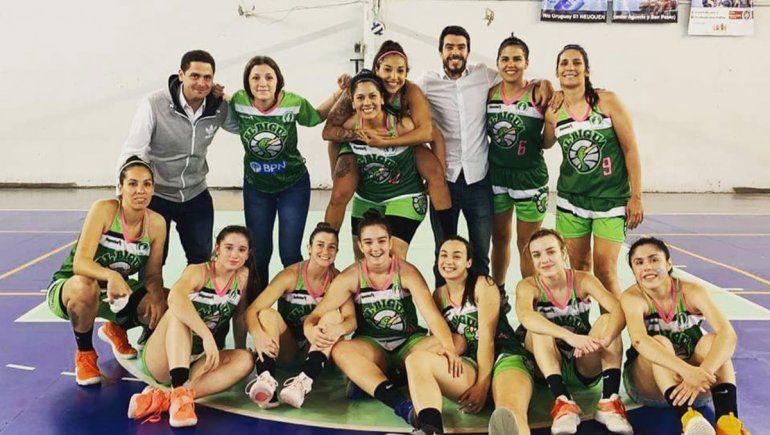 Tres equipos neuquinos están en la segunda fase del Federal Femenino de Básquet