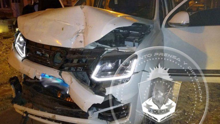 Video: así fue la secuencia en la que un joven chocó autos estacionados