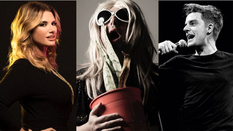Sexo, música y humor: Rampolla, Jey Mammon y Lucas Lauriente llegan a Neuquén con sus shows