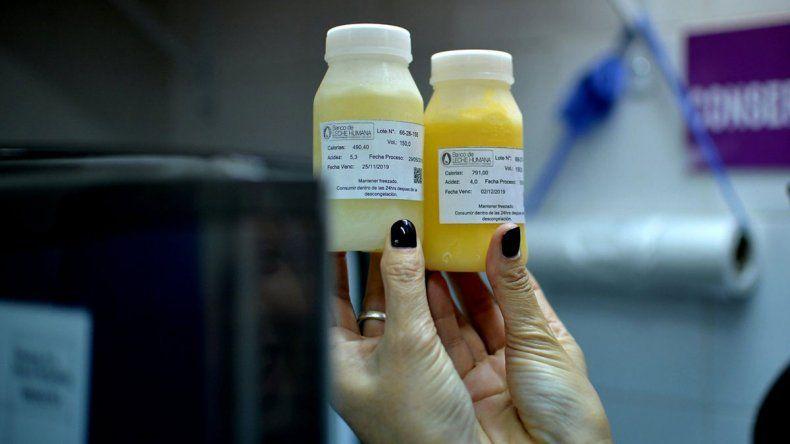 La leche humana pasteurizada bate récords cada año