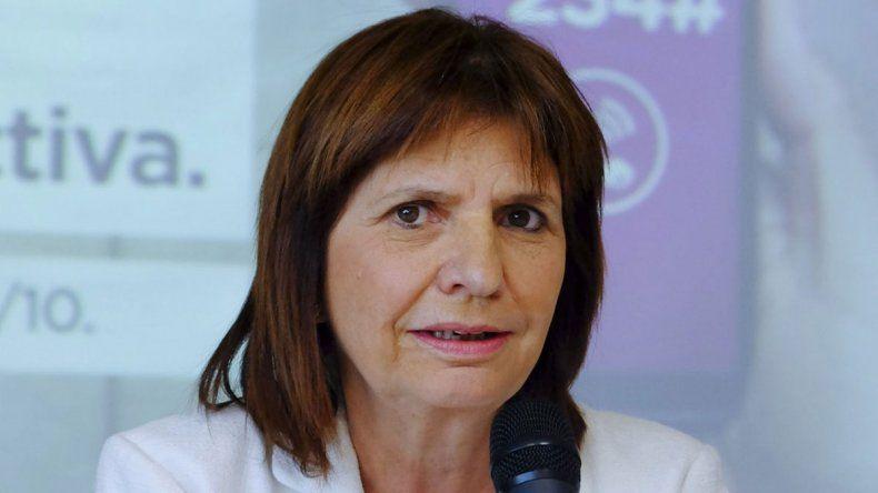 Bullrich aseguró que Donda cometió abuso de autoridad