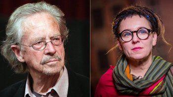 quienes son los ganadores del nobel de literatura 2018 y 2019