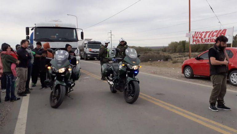 Crimen de Luciano: los vecinos liberaron las rutas tras la llegada de Gendarmería