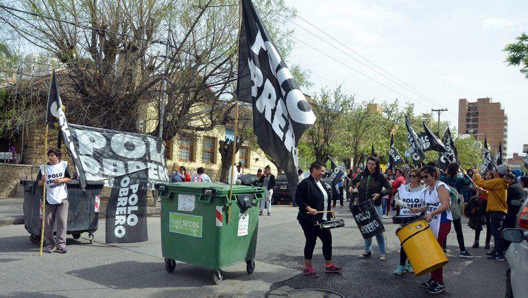 EL PO reclamó por la caída de planes sociales y la falta de alimentos