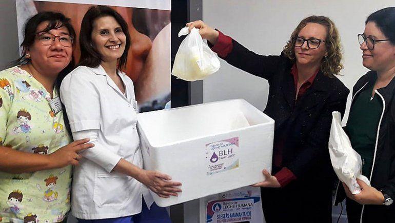 Plottier abrió un centro de recolección de leche materna