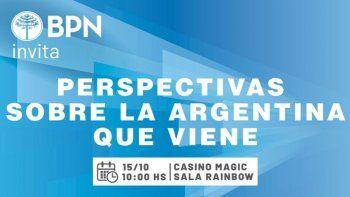 tres especialistas debatiran sobre la argentina que viene en neuquen