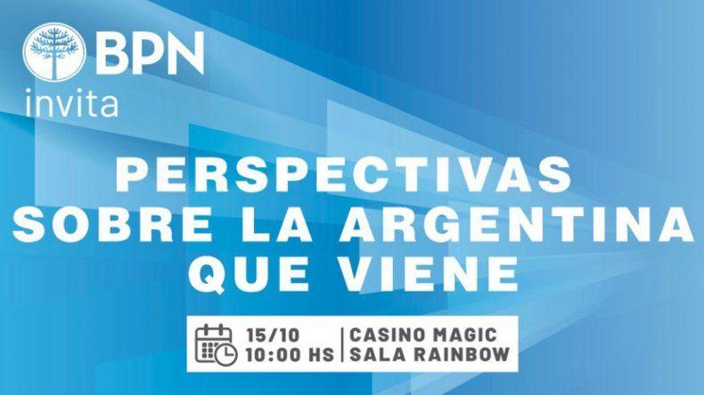 Tres especialistas debatirán sobre la Argentina que viene en Neuquén