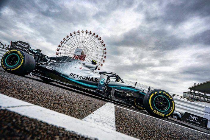 Bottas fue el mejor del viernes de la Fórmula 1 en Japón