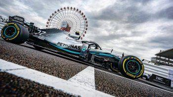 bottas fue el mejor del viernes de la formula 1 en japon