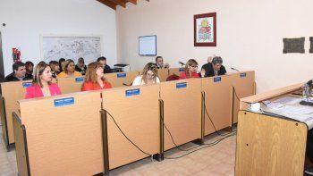 el concejo declaro de interes la llegada de gendarmeria a plottier