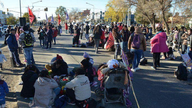 Organizaciones sociales ratificaron más cortes de ruta