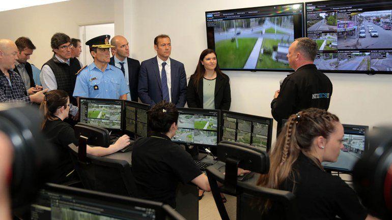 Habilitan el centro de monitoreo en Centenario