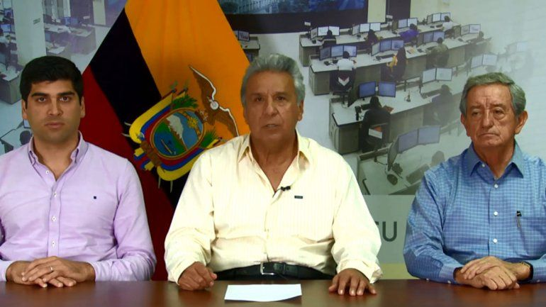 Tensión en Ecuador: decretan el toque de queda y la militarización en Quito