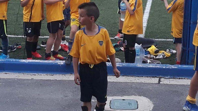El pequeño Messi rionegrino de 9 años que fichó Boca