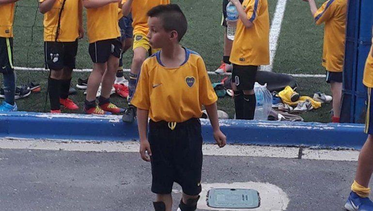 El pequeño «Messi rionegrino» de 9 años que fichó Boca