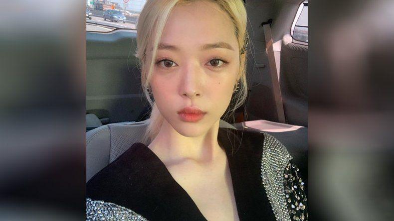 Hallaron muerta a Sulli, la estrella coreana del K-Pop de 25 años