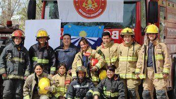 bomberos neuquinos se destacaron por su habilidades y destrezas