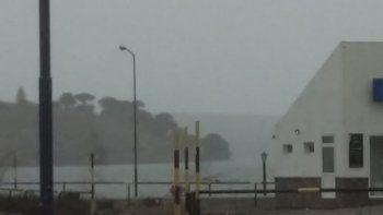 viento: piden precaucion en el regreso desde la cordillera