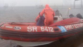 rescatan a un kayakista con principio de hipotermia