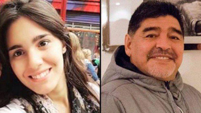 ¿Se suma una nueva hija al clan infinito de Maradona?