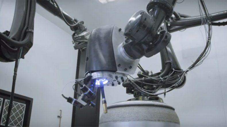 Desarrollan impresoras 3D para construir cohetes