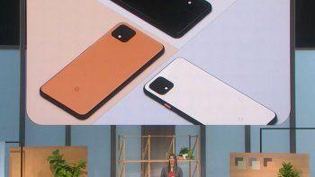 google presento la nueva familia de smartphone pixel 4