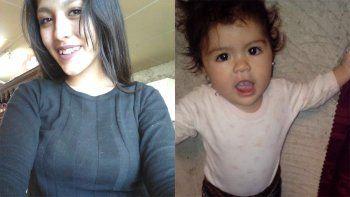 buscan a una joven y a su pequena hija: viajaron de roca a anelo y no regresaron