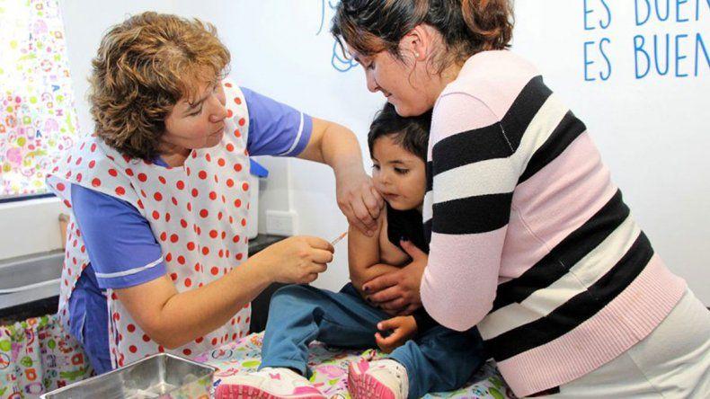 Zona centro: hay vacunas contra  el sarampión
